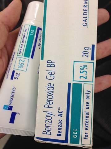 ニキビが治ってポニーテール|ベンザックACジェル2.5%【2箱セット】